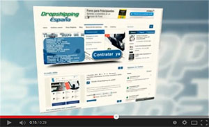 posicionamiento dropshipping con videos