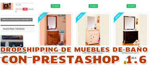 Nueva tienda online de muebles de ba o dropshipping y prestashop - Tiendas de muebles de bano en madrid ...