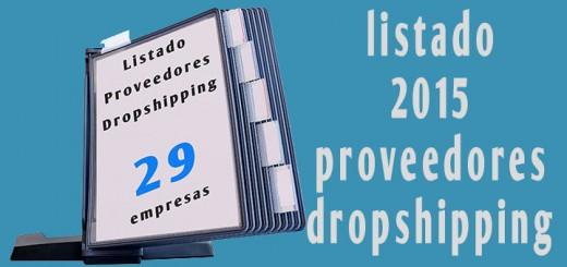 listado mayoristas dropshipping españa