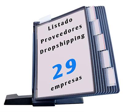 listrado proveedores dropshipping españa