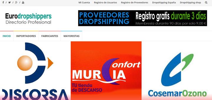 Proveedores dropshipping España, nuevo directorio profesional