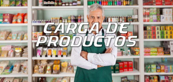 carga de productos